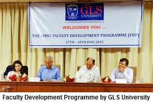 FDP organized by GLS University